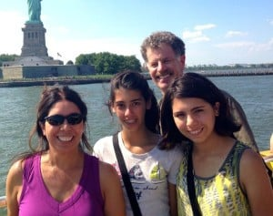 Ana and Chris with their daughters Annika and Bella (courtesy of Ana)
