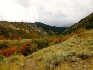 Indian Summer in Utah's Wasatch range